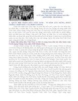 Bài viết về chủ đề ngày thành lập quân đội nhân dân việt nam 22 12 1944
