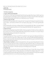 ĐIỀU TRA, THỐNG kê, ĐÁNH GIÁ TIỀM NĂNG DU LỊCH NHÂN văn ở LONG AN
