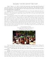 Bài dự thi Em yêu lịch sử Việt Nam