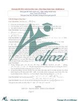 đề THPT quốc gia môn toán 2016 và lời giải chi tiết