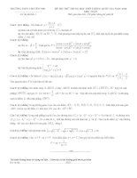 Đề thi thử môn toán trường THPT Nguyễn Đình Chiểu lần 1 năm 2016
