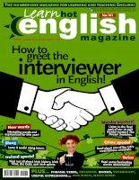 vnz learn hot english – october 2015