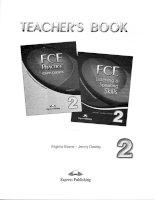 FCE listening and speaking skills 2 TB