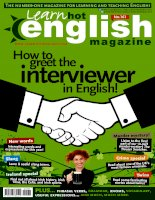 learn hot english magazine số 161
