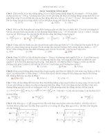 50 câu bài tập vật lý 12 hay có đáp án