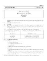 TCVN 5261 1990   phương pháp lấy mẫu sản phẩm ong