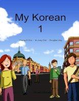 giáo trình học tiếng hàn quốc my-korean1-2nd-ed