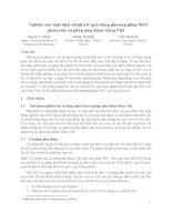 Nghiên cứu luật hiệu chỉnh kết quả dùng phương pháp MST phân tích cú pháp phụ thuộc tiếng Việt