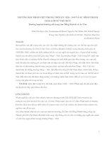 TRƯỜNG HỌC PHÁP-VIỆT TRONG THỜI KỲ 1920 - 1945 VÀ SỰ HÌNH THÀNH TẦNG LỚP NỮ TRÍ THỨC