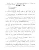 Nguyễn văn hải   THPT dương quảng hàm PHÂN LOẠI và PHƯƠNG PHÁP GIẢI bài tập về MUỐI NGẬM  nước
