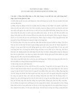 25 câu hỏi và đáp án phần kinh tế chính trị nguyên lý mác lenin