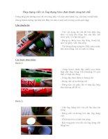Ống đựng viết và ống đựng bàn chải đánh răng tái chế