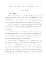 SKKN ỨNG DỤNG LÍ THUYẾT NGHĨA TƯỜNG MINH, NGHĨA HÀM ẨN ĐỂ THIẾT KẾ BÀI TẬP DẠY ĐỌC HIỂU CHO HỌC SINH LỚP 4