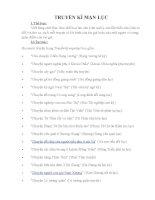 TRUYỀN kì mạn lục  của Nguyễn Dữ ngữ văn 10 nâng cao