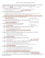 290 câu TRẮC NGHIỆM KINH tế vĩ mô có lời GIẢI