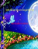 bài giảng môn tự nhiên xã hội lớp 2 theo phương pháp bàn tay nặn bột bài mặt trăng và các vì sao