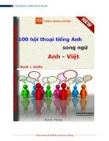 100 bài hội thoại tiếng anh (anh-việt)