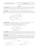 25 đề thi học sinh giỏi môn vật lý lớp 9   kèm đáp án