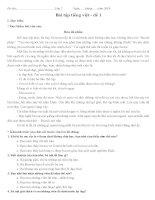 tổng hợp đề thi tiếng việt lớp 2 cuối học kỳ 1