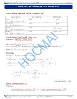 5 Dạng lượng giác trong đề thi THPT quốc gia
