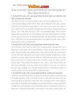 50 bài luận mẫu tiếng anh trong kỳ thi thpt quốc gia 2016