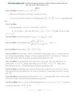 Giải chi tiết đề thi thử toán T1,2,3