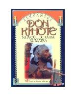 tiểu thuyết Donqihote  nhà quý tộc tài ba xứ mantra tác giả  cervantes