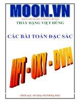 Tài liệu hệ phương trình  hình học Oxy thầy Đặng Việt Hùng