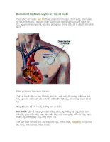 Bài thuốc hỗ trợ điều trị suy tim từ y học cổ truyền