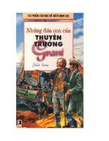 tác phẩm văn học cổ điển chọn lọc những đứa con của thuyền trưởng grant tác giả   jules verne