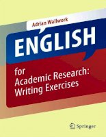 English for academic research writing exercises