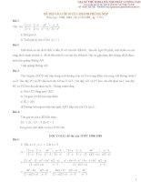 Tuyển tập đề thi vào lớp 10 môn toán tại Hà Nội từ năm 1988  2013 có đáp án
