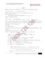 Tuyển tập một số đề thi HSG môn Toán lớp 8 có đáp án