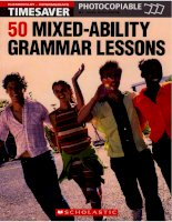 50 mixed ability grammar lessons