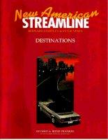 New american streamline destinations