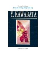 truyện trong lòng bàn tay  y  kawabata