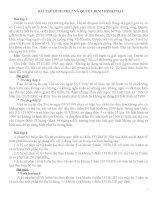 BÀI tập HÌNH PHẠT và QUYẾT ĐỊNH HÌNH PHẠT