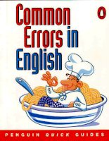 Common errors in english   paul hancock