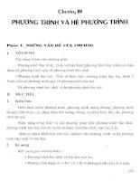Thiết kế bài giảng đại số 10 nâng cao (tập 1)  phần 2