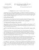 Công văn về việc  hướng dẫn xử lý vướng mắc Thông tư số 382015TTBTC
