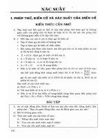 Ebook phương pháp giải toán giải tích tổ hợp và xác suất  phần 2
