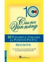 sách tham khảo 10 câu nói vạn năng