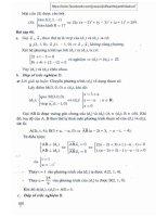 Ebook phương pháp giải toán hình giải tích trong không gian 12  phần 2