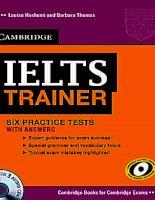 tài liệu luyện thi  IELTS trainer