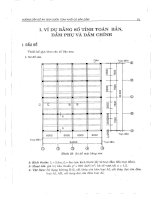 Ebook hướng dẫn đồ án môn học bê tông cốt thép 1  sàn sườn toàn khối có bản dầm theo TCXDVN 356 2005 (phần 2)