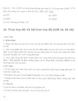 Thiết kế bài giảng hình học 10 nâng cao (tập 1)  phần 2