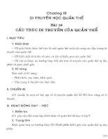 Thiết kế bài giảng sinh học 12 (tập 1)  phần 2