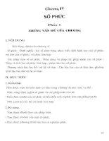 Thiết kế bài giảng giải tích 12 (tập 2)  phần 2