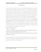 Chuyên đề tốt nghiệp: Các giải pháp Marketing nhằm duy trì và mở rộng thị trường của công ty cổ phần thời trang 4VIETNAM