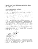 Đại cương  về phương pháp nghiên cứu cấu trúc tinh thể bằng tia x